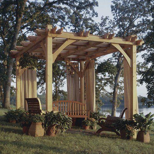 Build-to-Suit Pergola: Downloadable Woodworking Plan