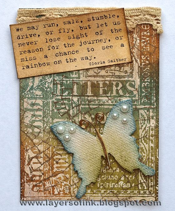 Anna-Karin: Mini Butterfly & Stampers Anonymous Classics #3 http://layersofink.blogspot.com/2012/11/stamp-without-ink.html#
