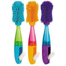 "Baby Bottle Brushes COOL! Sassy BPA Free No Scratch Bottle Brush (Colors May Vary) - Sassy - Babies ""R"" Us"