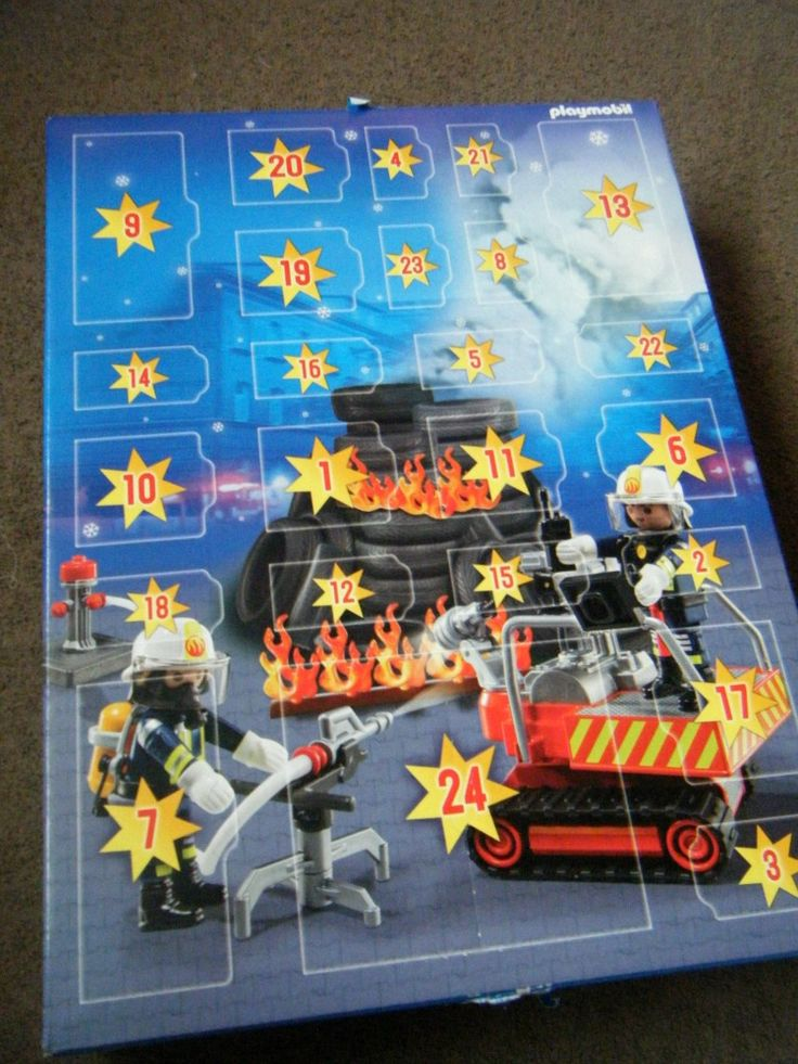 Playmobil have 6 different Advent Calendars to choose from. Here's my review on the Fire Rescue Playmobil Advent Calendar