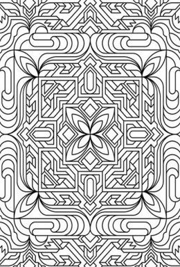 geometric design colouring pictures stained glass colouring pages to print and colour chaos star burst