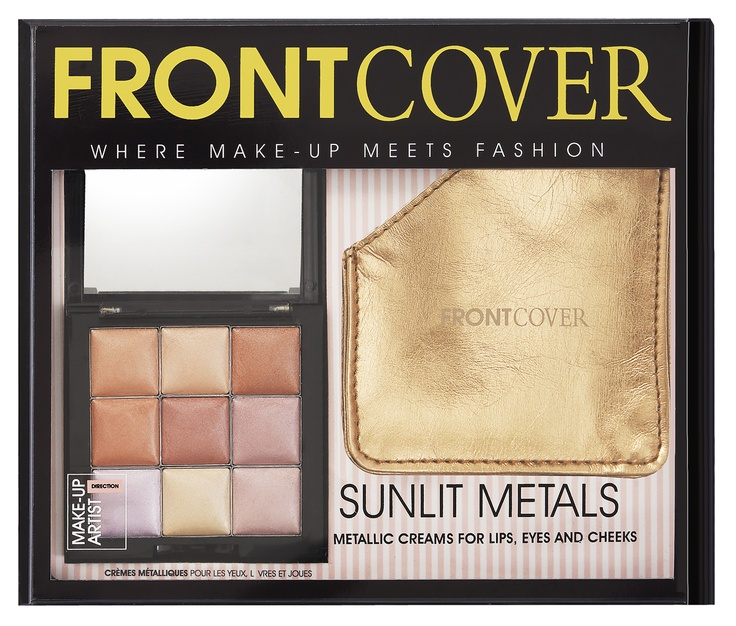 Sunlit Metals, 14 euros - 9 metallic creams for eyes, lips and cheeks, metallic pouch. Creamy peaches, apricots and golds were starts of the s/s 2012 catwalks: think fresh faced beauty at Louis Vuitton, Anna Sui, Chloe and Diane Von Furstenburg.