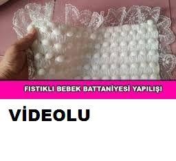 Fıstıklı bebek battaniyesi anlatım videolu olarak izleyebilirsiniz.Türkçe videolu olarak izleyeyebilirsiniz