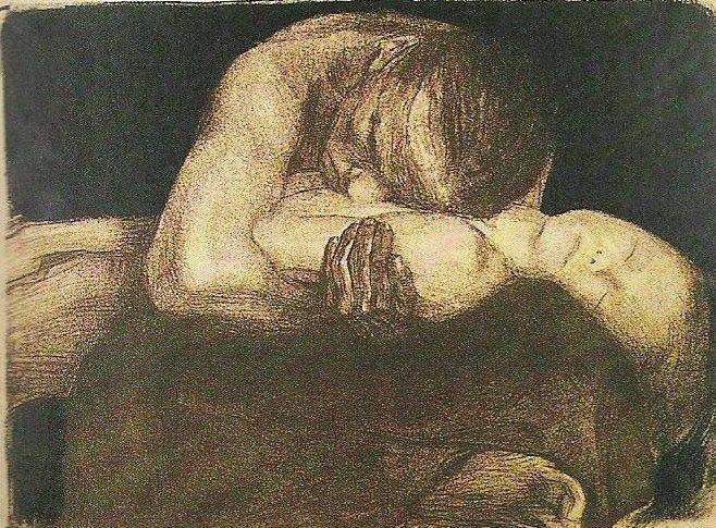Kathe Kollwitz - Pieta, 1903