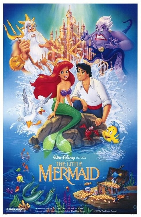 The Little Mermaid. BEST. MOVIE. EVER.