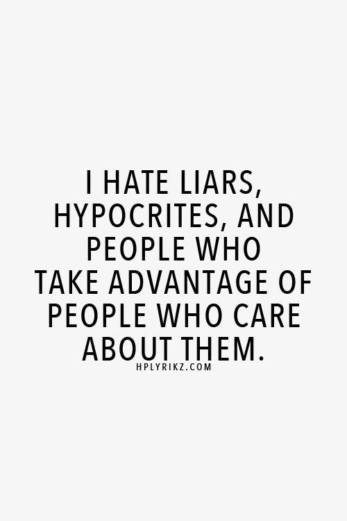 i hate people who lie quotes - photo #25