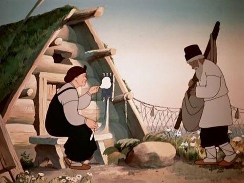 Сказка о рыбаке и рыбке. 1950