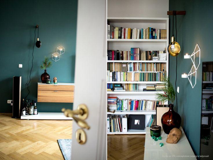 Die besten 25+ Dunkelgrüne wände Ideen auf Pinterest Dunkelgrüne - farben fr wnde streichen