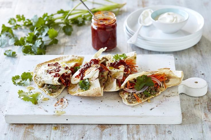 "KitchenAid Australia & NZ on Instagram: ""Who said lunch was boring? Make these Turkish Lamb and Pine Nut Savoury Mince Pita Pockets, crisped to perfection with your KitchenAid…"""