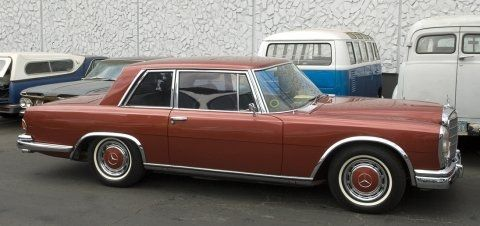 1965 Mercedes 600 SWB Coupe Custom Front - is this thing even real?!