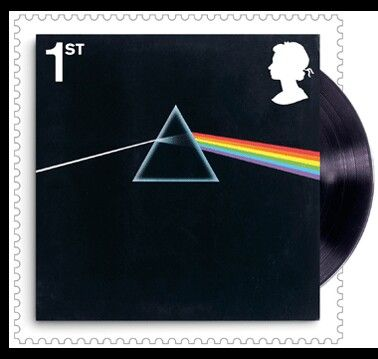 Pink floyd The dark side of the moon stamp royal mail
