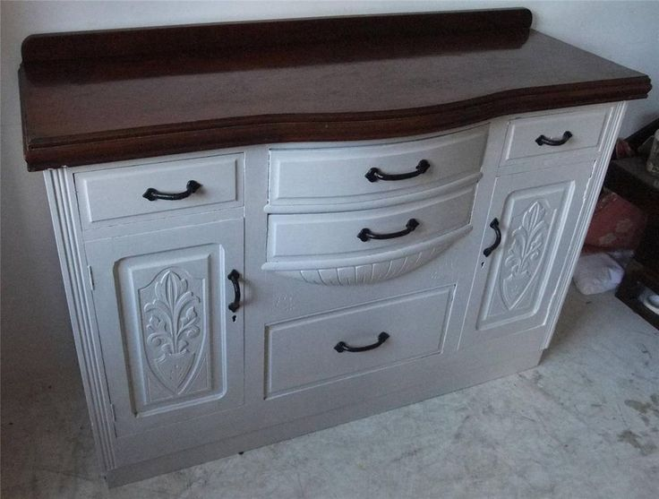 Shabby Chic Grey Sideboard Viewings Welcomed At: Big Yorkshire Furniture  3/5 Wharf Street
