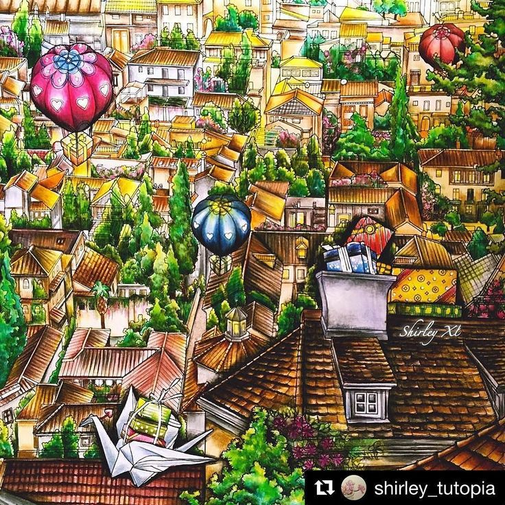 #Repost @shirley_tutopia with @repostapp  FinishedOverlooking the town New video is available on my YT@Shirley_TutopiaFull of trees and houses do you like it? ColoringBook: The night voyage by @daria486 Medium: Prisma Primier #thenightvoyage #thenightvoyagecoloringbook #dariasong  #coloringbook #coloring #coloriage #colouringforadults #prismacolor #coloredpencils #adultcoloring #shirleytutopia #colouring #colouringbook #coloringtutorial #塗り絵の本 #大人の塗リ絵 #著色本