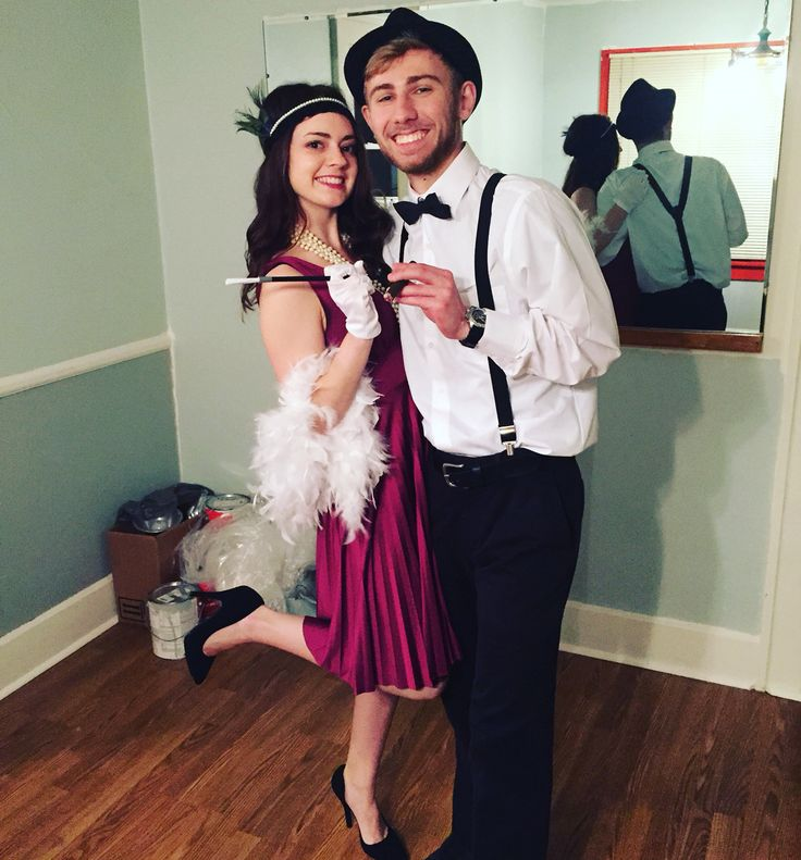 1920s Couple costume // Great Gatsby
