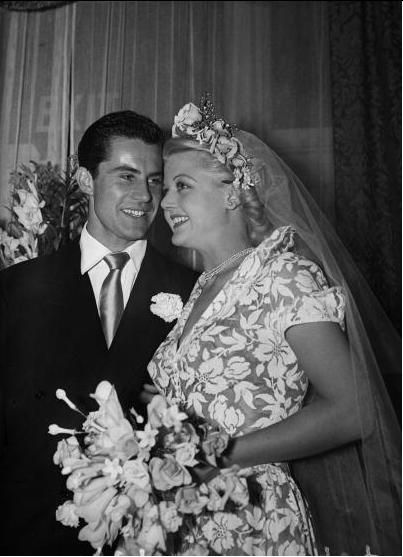 Angela Lansbury and Peter Shaw. They were married for 53 years, until he passed away in 2003.