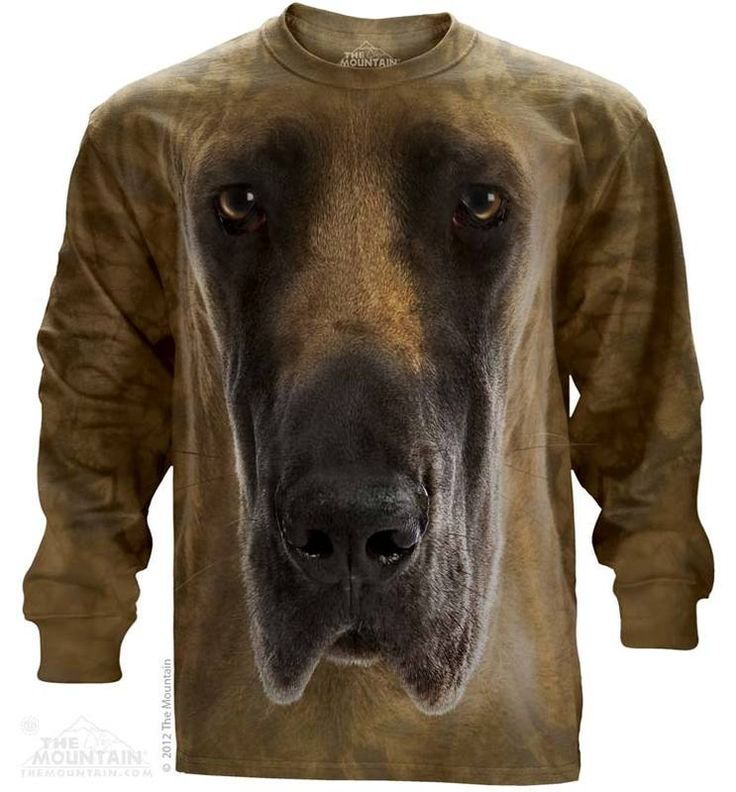 Great Dane Long Sleeve T-Shirt - 30% DISCOUNT ON ALL ITEMS - USE CODE: CYBER  #Cybermonday #cyber #discount