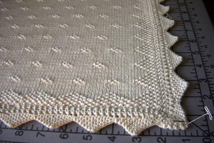 knit baby blanket pattern - Google Search