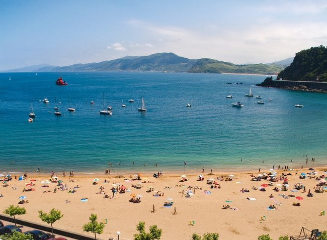 Getaria, País Vasco. Aquí se ha inaugurado el museo Balenciaga