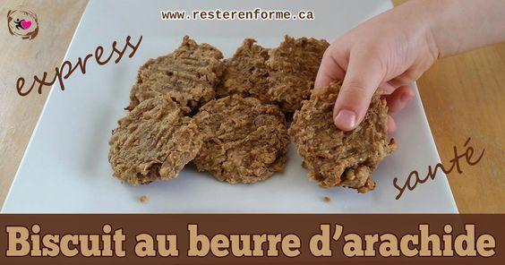 Biscuit au beurre d'arachide santé - Restez en forme avec Sandra - Beachbody francais