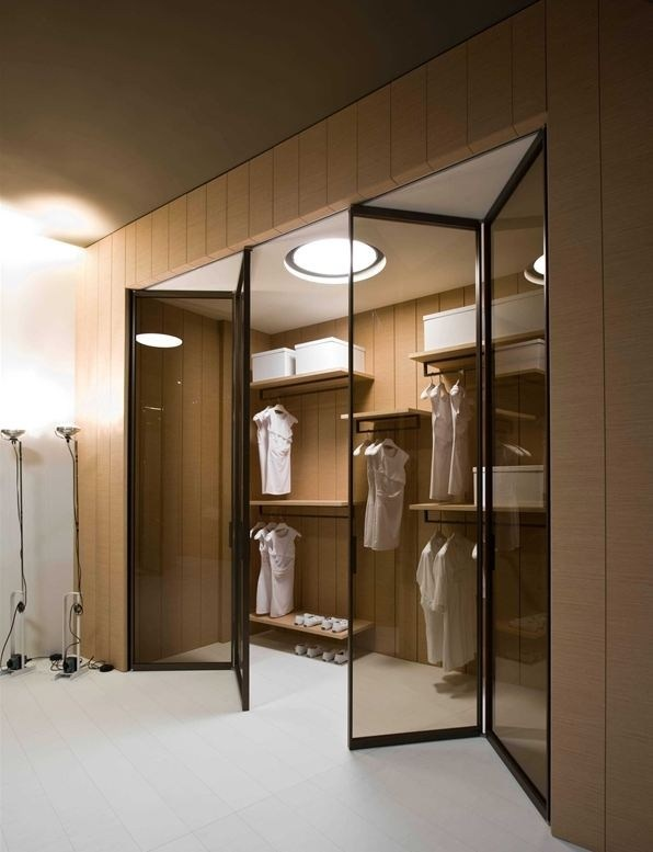 Concepts in wardrobe design. Storage ideas, hardware for wardrobes, sliding wardrobe doors, modern wardrobes in London