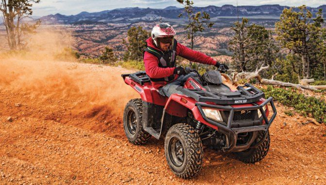 Arctic Cat Drops ATV Prices for 2017 - ATV.com Midsize and full size ATVs more affordable
