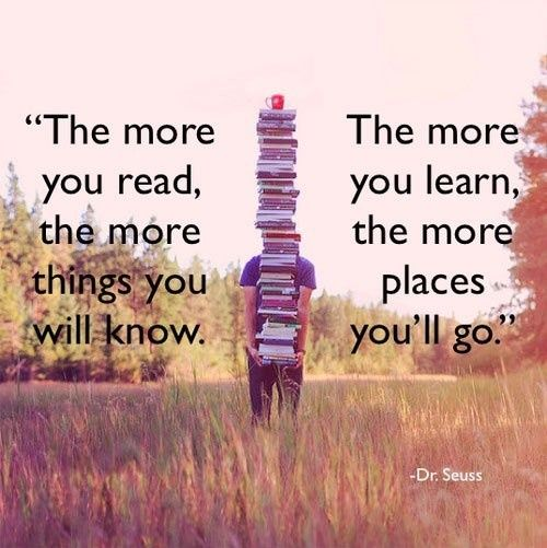 Reading quote dr seuss quotes pinterest - Reading quotes pinterest ...