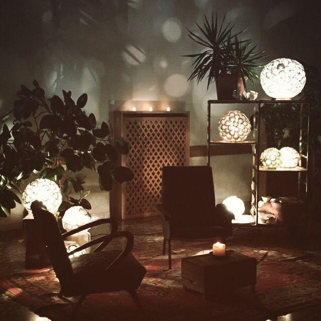 private party window _ #chiarasonda.it #astrolamp #ceramic #lamp #lowdesign
