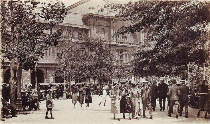 1930, Plaza de Armas
