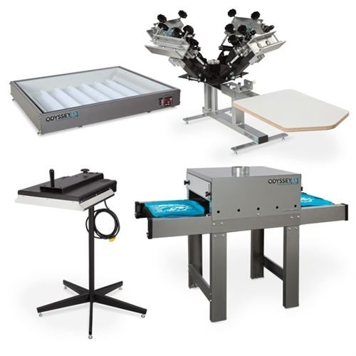 Anthem Screen Printing - Workhorse Equipment Starter Package