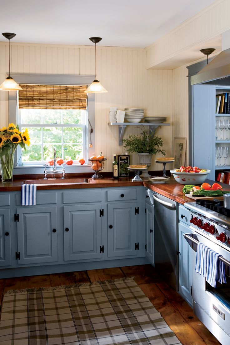 15+ Ways To Add Color To Your Kitchen Part 47
