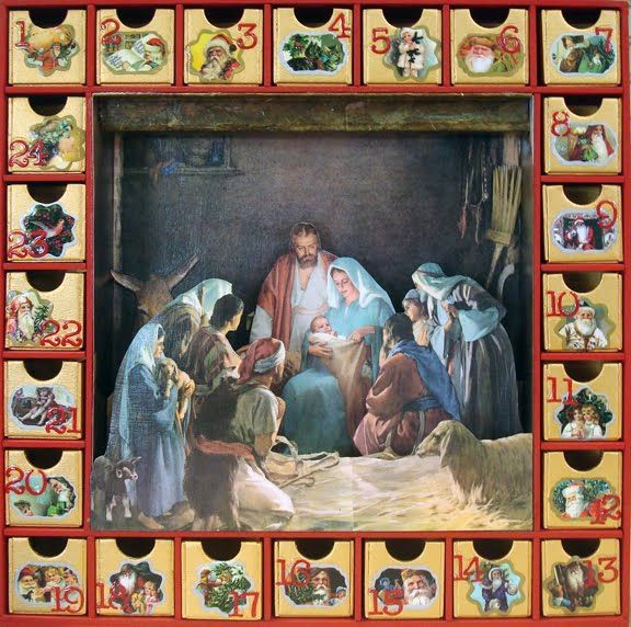 ... Calendrier de l'Avent on Pinterest   Other, Advent calenders and Paper
