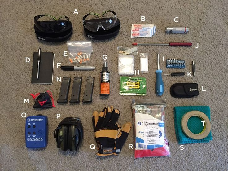 range bag contents