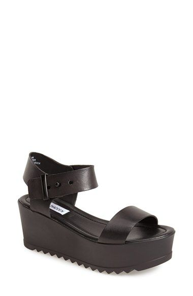 GET IN GOLD; I already have Black.  Steve Madden 'Surfside' Platform Sandal (Women) available at #Nordstrom