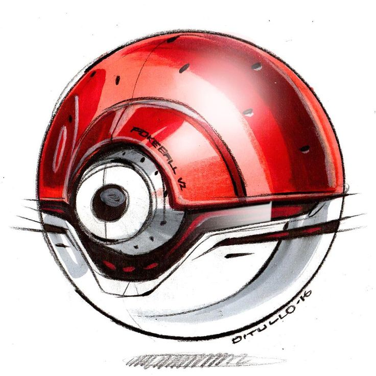 How about a slight design refresh on the old PokeBall? Prismacolor pencil, markers, and chalk on bond paper.