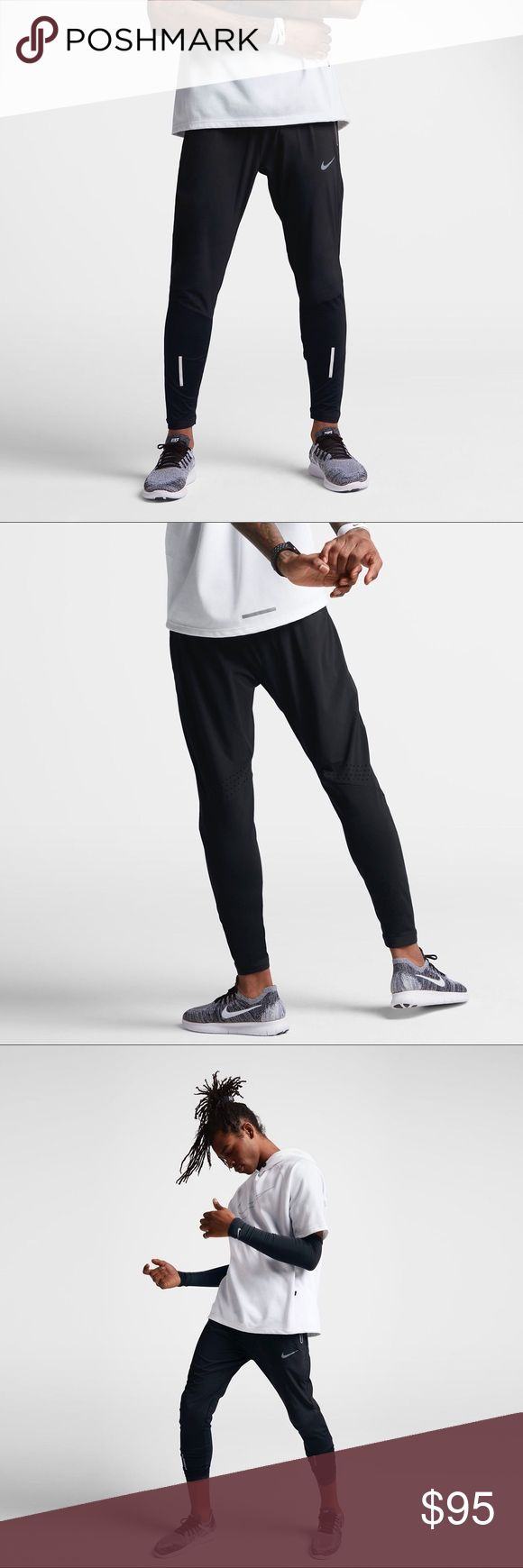 """MENS NIKE SWIFT 27"""" RUNNING PANTS 