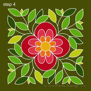 This page provides 12x12 Dot Rangoli Designs with title 12x12 Dot Rangoli 14 for Hindu festivals.