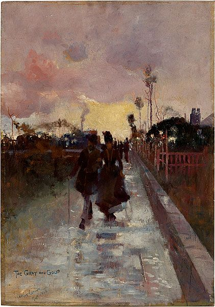 going home , 1889 Charles Conder