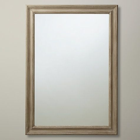 Buy John Lewis Distressed Mirror, Taupe, 102 x 72cm Online at johnlewis.com