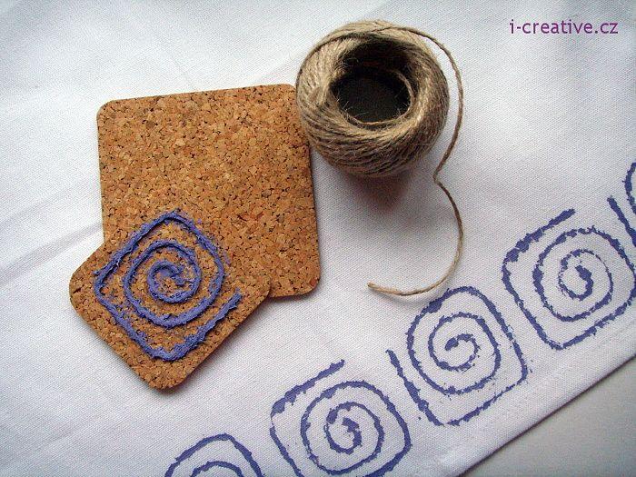 Tisk na textil - výroba razítek   i-creative.cz - Inspirace, návody a nápady pro…