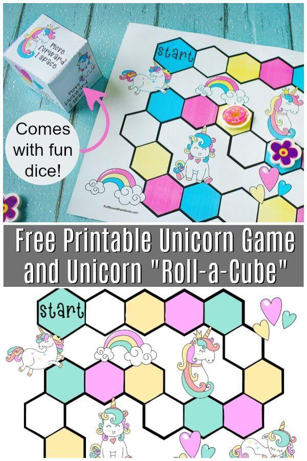 Free Printable Unicorn Party Game