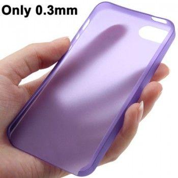 0.3mm Ultra Thin Polycarbonate TPU iPhone 5 & 5s Case - Purple