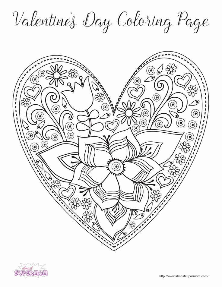 Valentines Day Coloring Activities Fresh Coloring Pages ...