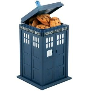 Doctor Who Tardis Lights and Sounds Cookie Jar