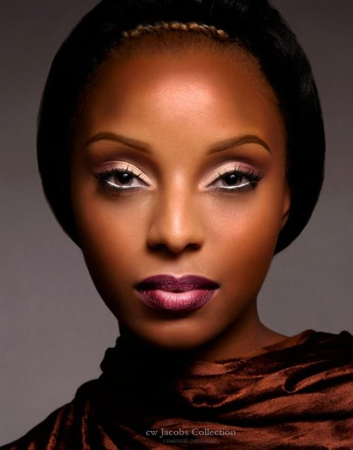 Brighter lip color nice on brown skin medium skin darker skin makeup