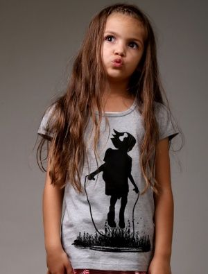 Buy Littlehorn Skipping Girl Tee
