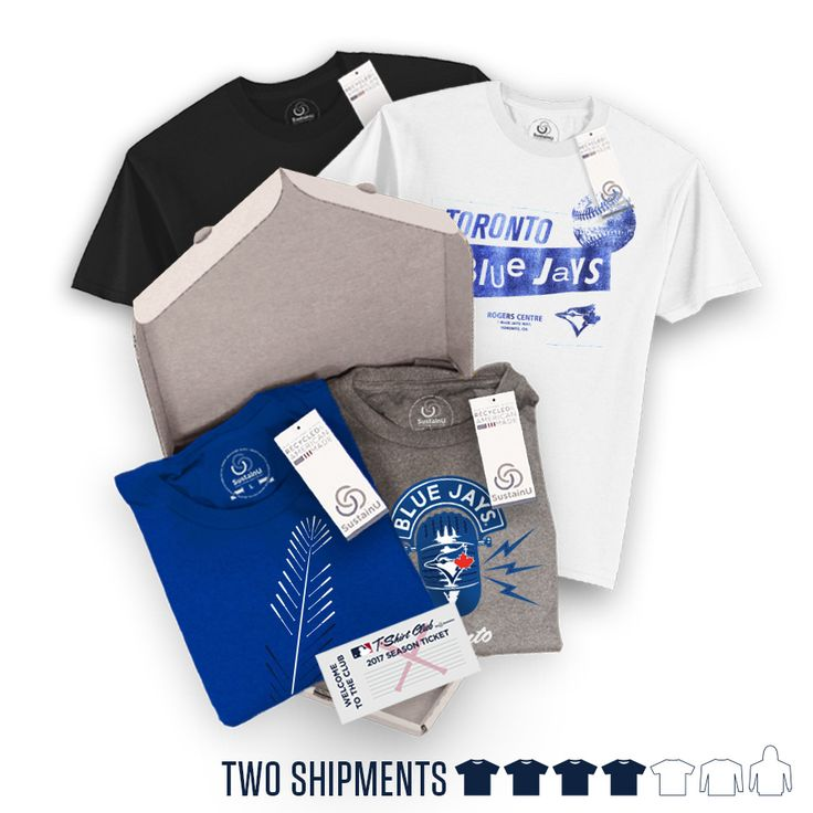 "@torontobluejays - ""The Double"" Package #BlueJays #TorontoBlueJays #BlueJaysBaseball #Toronto #Jays. Visit our website to learn more about MLB T-Shirt Club! (https://mlbtshirtclub.com/)"