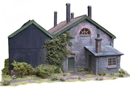 how to make model railway buildings