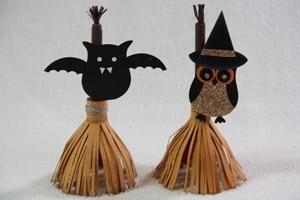 DIY Halloween : DIY Broom Lollipop