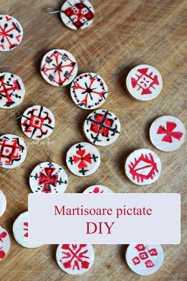 DIY #martisoarepictate inspirate de #motiveletraditionale romanesti #martisor