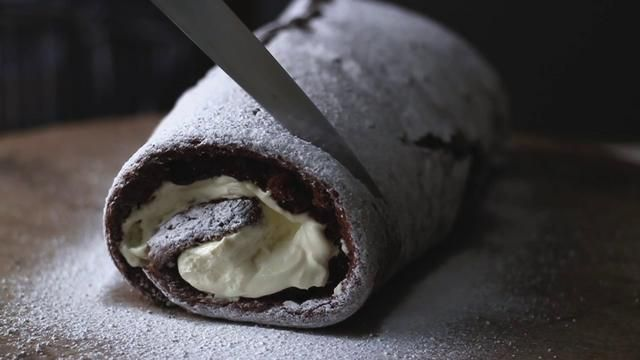 Chocolate Roulade. Video by Sun Studios Productions. Perfect